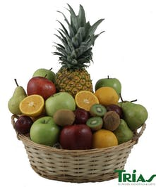 Fruit Basket Trias Flowers Miami Florist