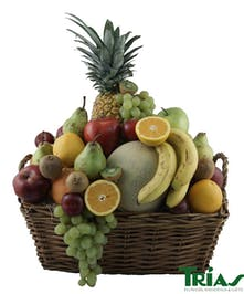 Fruit Basket Trias Flowers Miami Florida