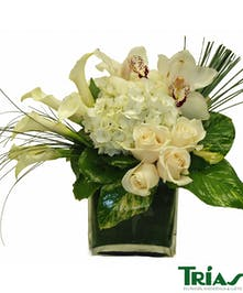 Floral bouquet filled with white flowers for any occasion