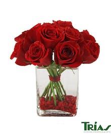 Red Rose Pavé