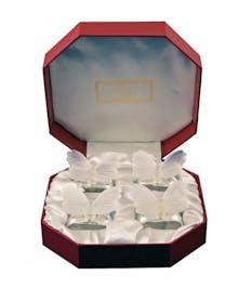 Elegant napkin ring set