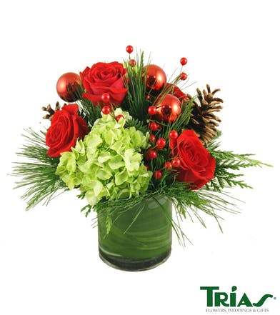 Holiday Brilliance Christmas Bouquet
