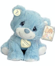 Precious Moments Charlie Blue Bear