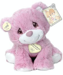 Precious Moments Pink Charlie Bear