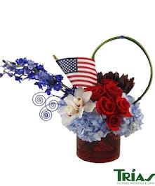 4th of July Salutation Arrangement