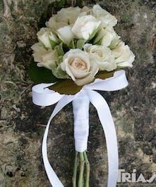 Junior Bouquet White Roses