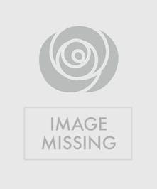 Adorable flower & orange arrangement!