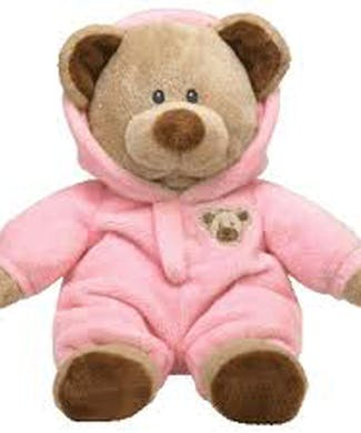 TY Baby Bear Pink