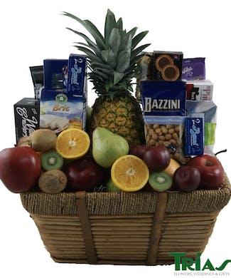 Ultimate Gourmet & Fruit Basket