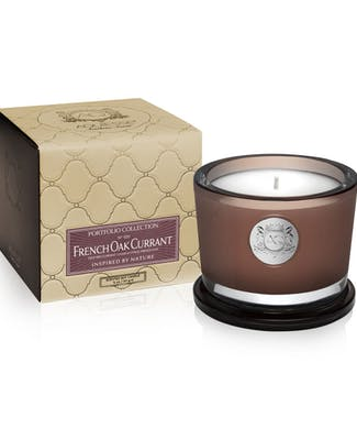 Aquiesse French Oak Currant Small Soy Candle