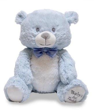 Cuddle Barn Baby's First Lullaby Teddie - Blue