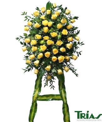 Sacred Yellow Rose Spray