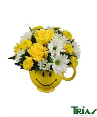 Yellow Flowers From Trais Flowers Miami Florida Florist