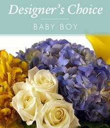 Designers Choice New Baby Boy