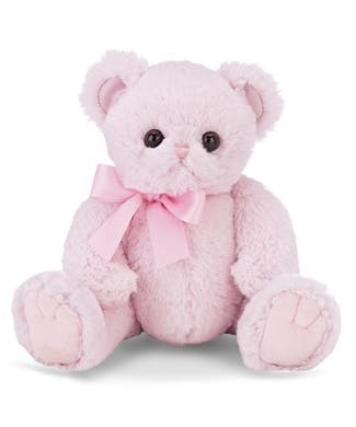 Bearington Lil' Huggie Bear Pink